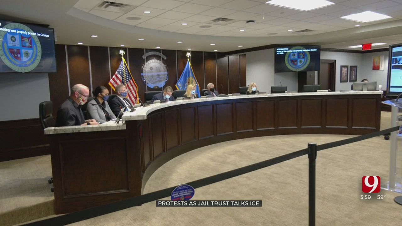 Oklahoma County Detention Center Trust Discusses ICE's Role Within Jail