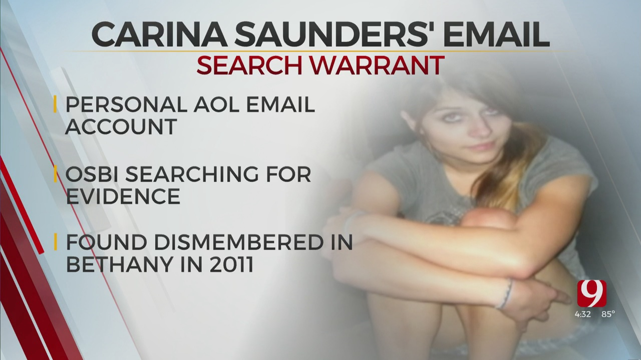 New Search Warrant Filed In Carina Saunders Murder Investigation