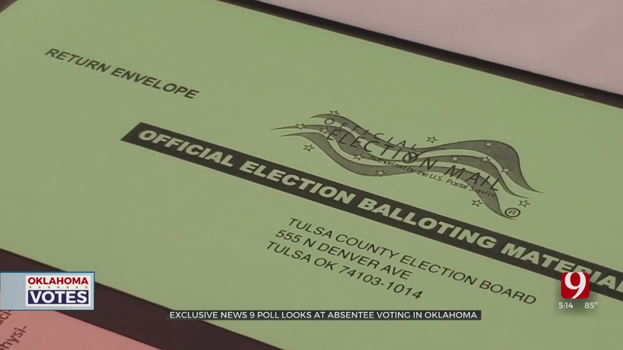 Exclusive News 9 Poll Shows Oklahomans Voting Absentee in Record Numbers