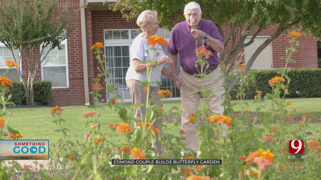 Edmond Couple's Green Thumbs Bringing New Visitors To Community