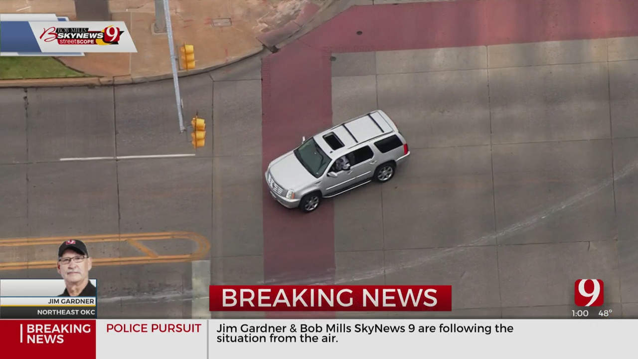Police Pursuit Ends In NW OKC