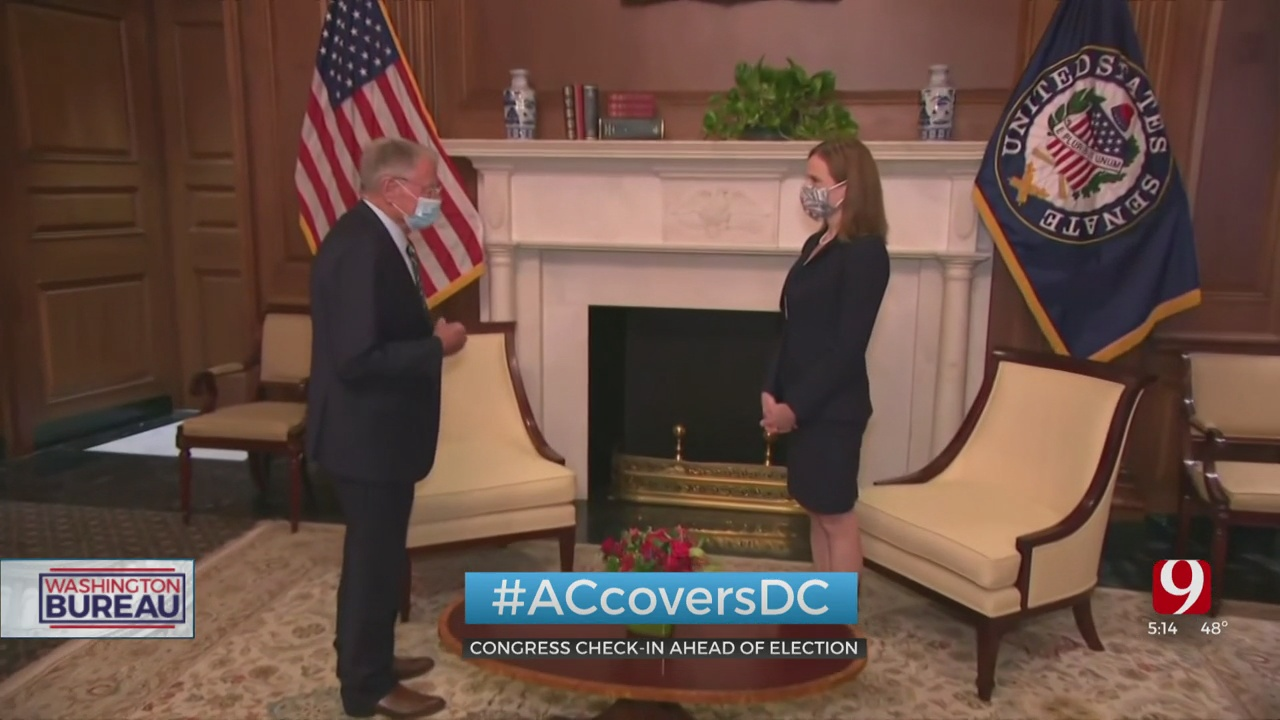 Senators Remain At Capitol Hill Less Than 2 Weeks Before Election Day