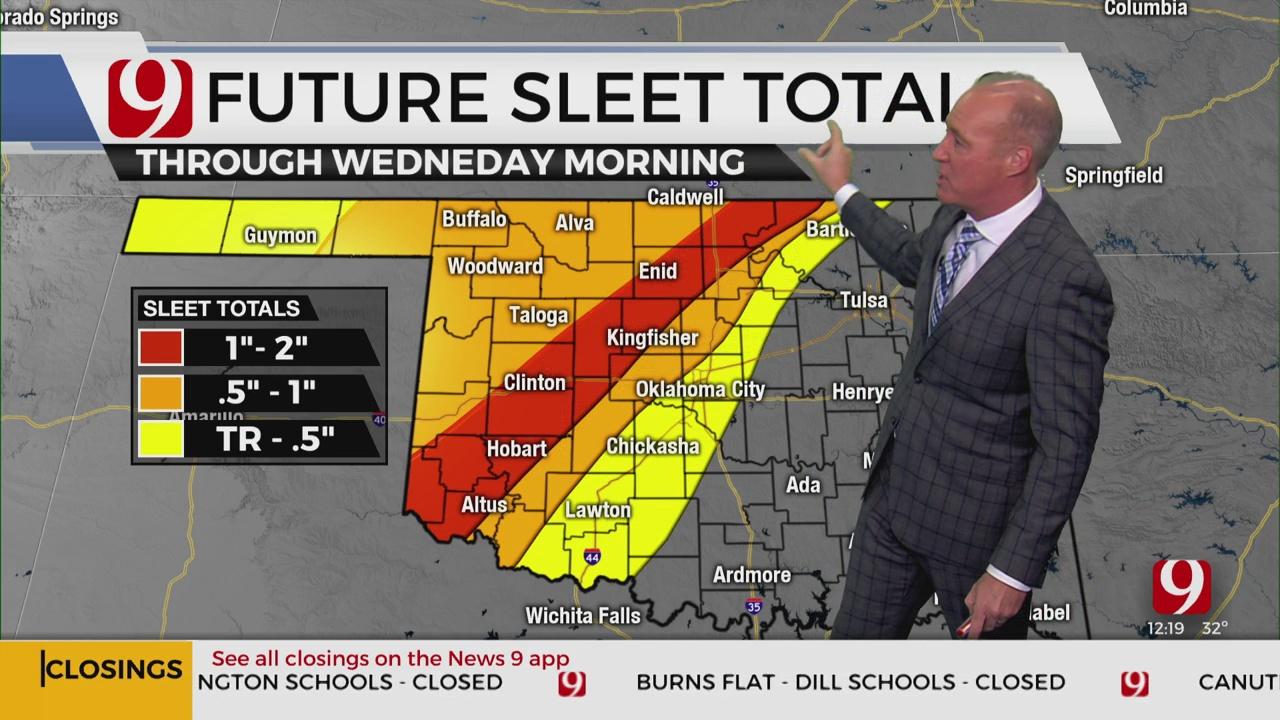 Monday Winter Storm Update With David Payne, Cassie Heiter