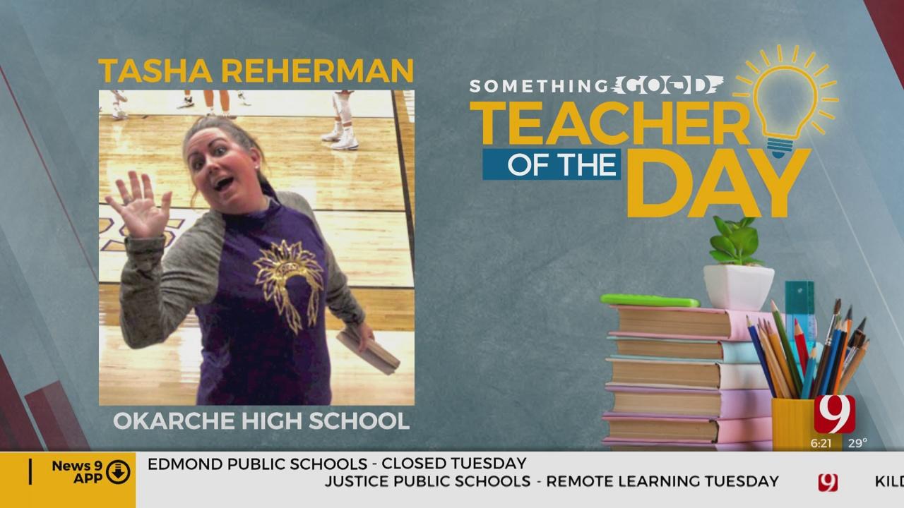 Teacher Of The Day: Tasha Reherman