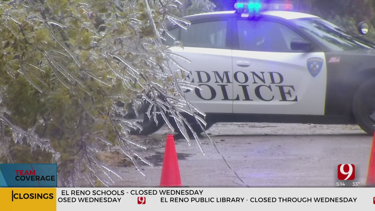 Historic Ice Storm Causes Damage Unlike Many Have Seen In Edmond