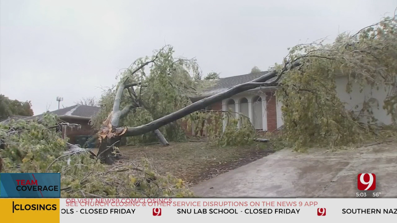 Roofing Expert Warns Of Damage Following Winter Storm