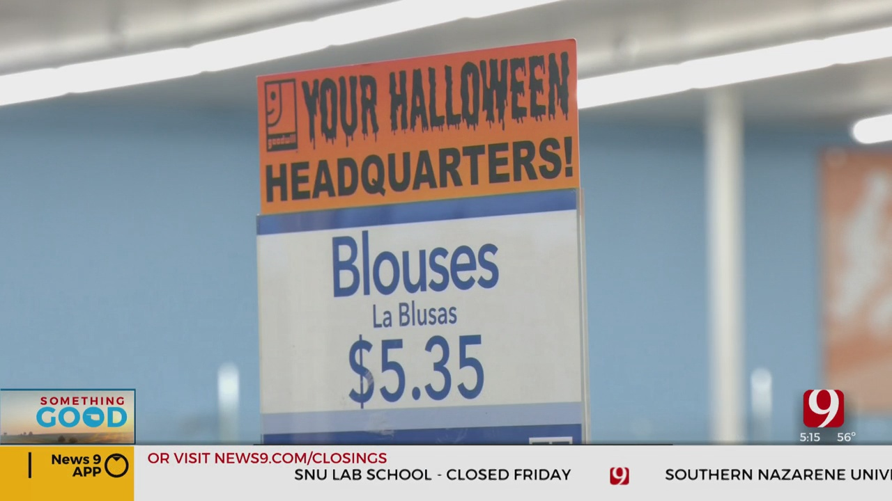 Local Goodwill Stores Packed With Halloween Options