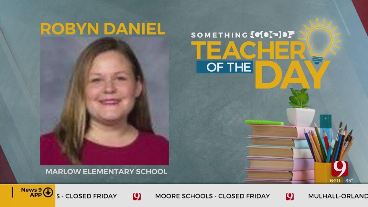 Teacher Of The Day: Robyn Daniel