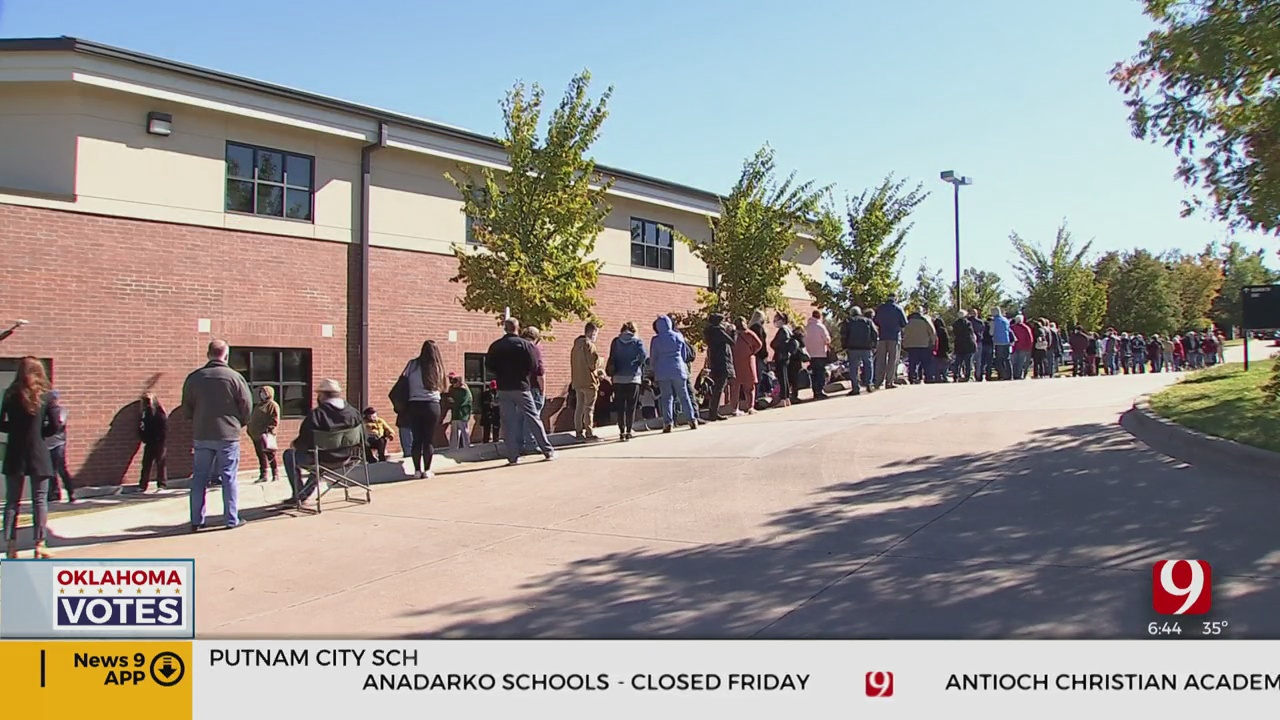 Voters Head To Polls For Day 2 Of Early Voting