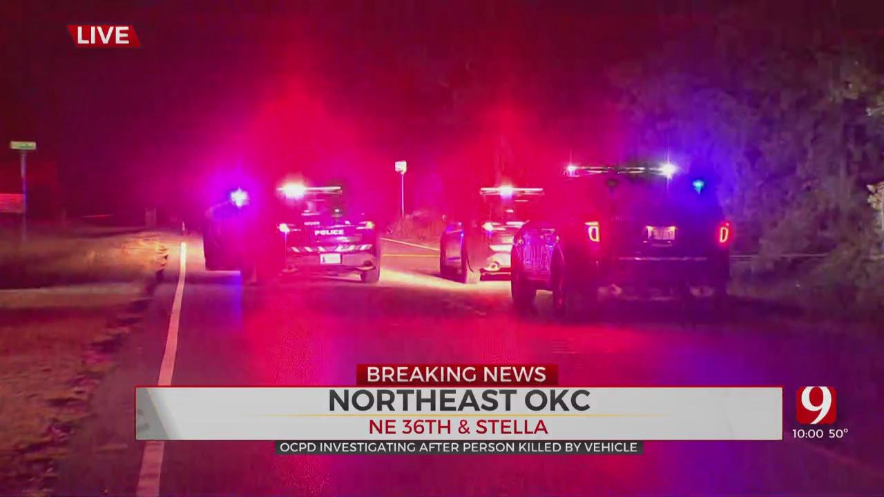 Man Dies After Being Struck By Car In NE OKC