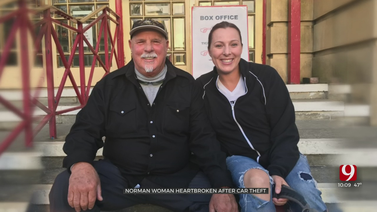 Norman Woman Heartbroken After Car With Father's Ashes Inside Is Stolen
