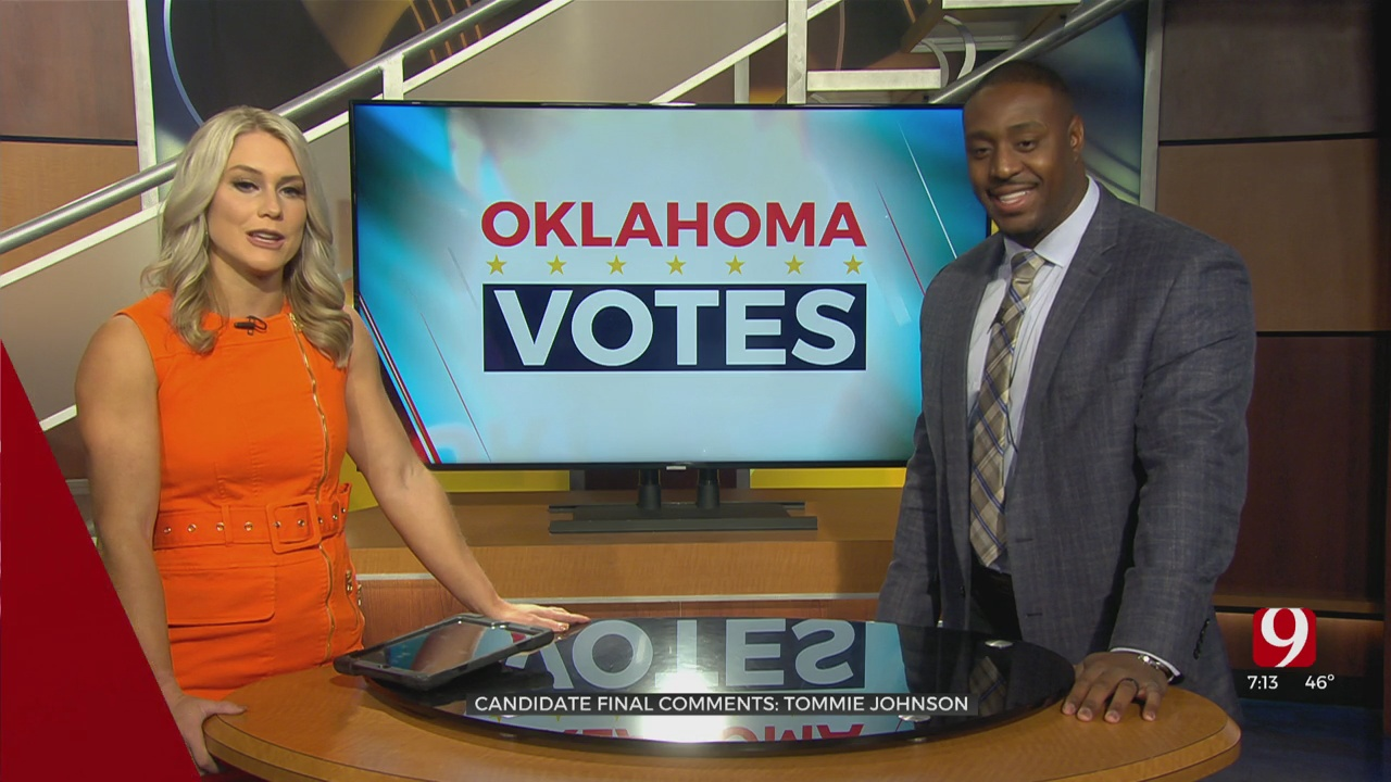 Oklahoma County Sheriff Candidate Tommie Johnson Speaks On His Experience