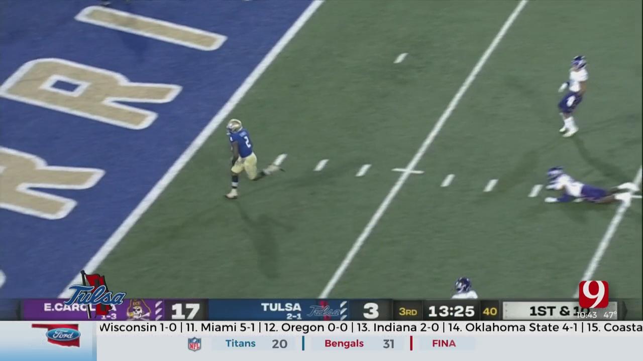 Tulsa Football Breakdown: Golden Hurricane Stay Hot In Thrilling Win