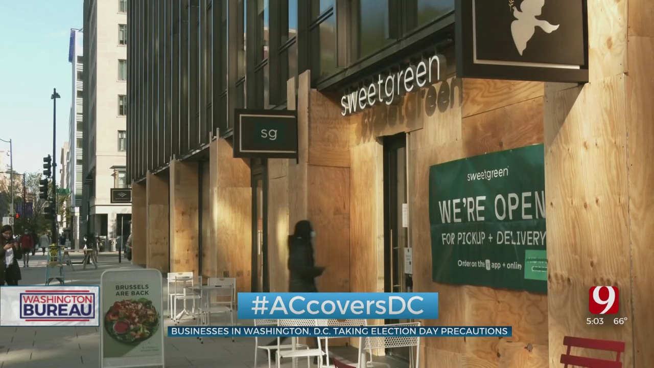 Businesses In DC Taking Election Day Precautions