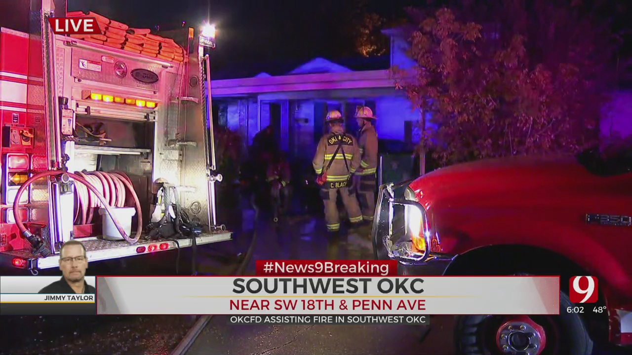 Firefighters Respond To SW OKC House Fire That Rekindled
