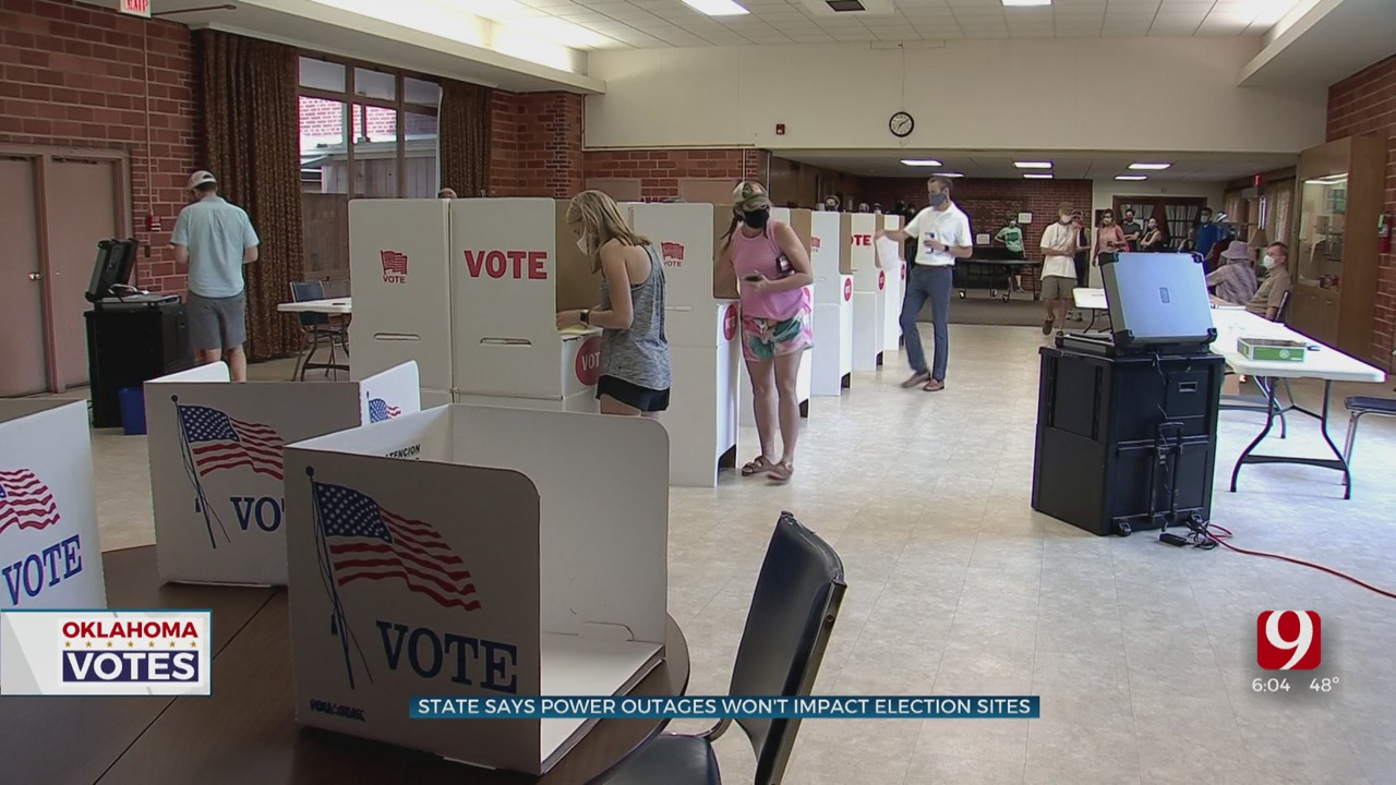 Thousands Still Without Power As Voters Head To The Polls