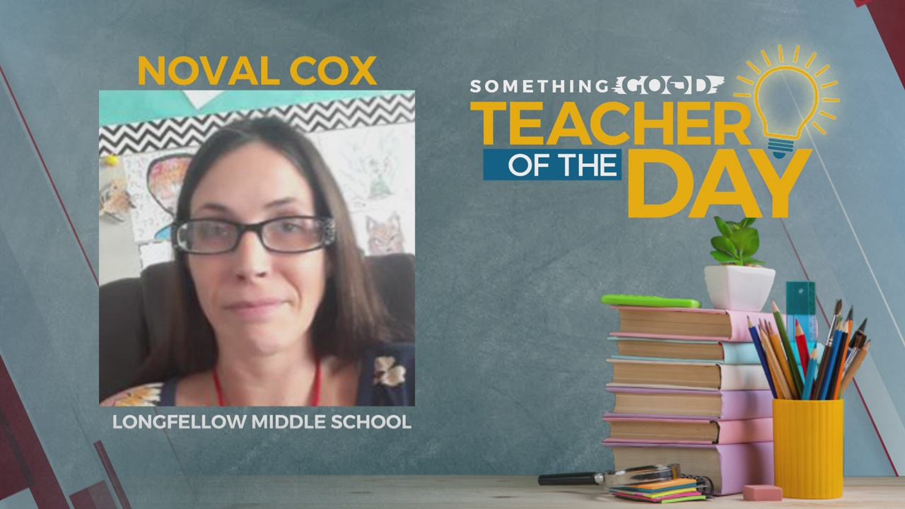 Teacher Of The Day: Noval Cox