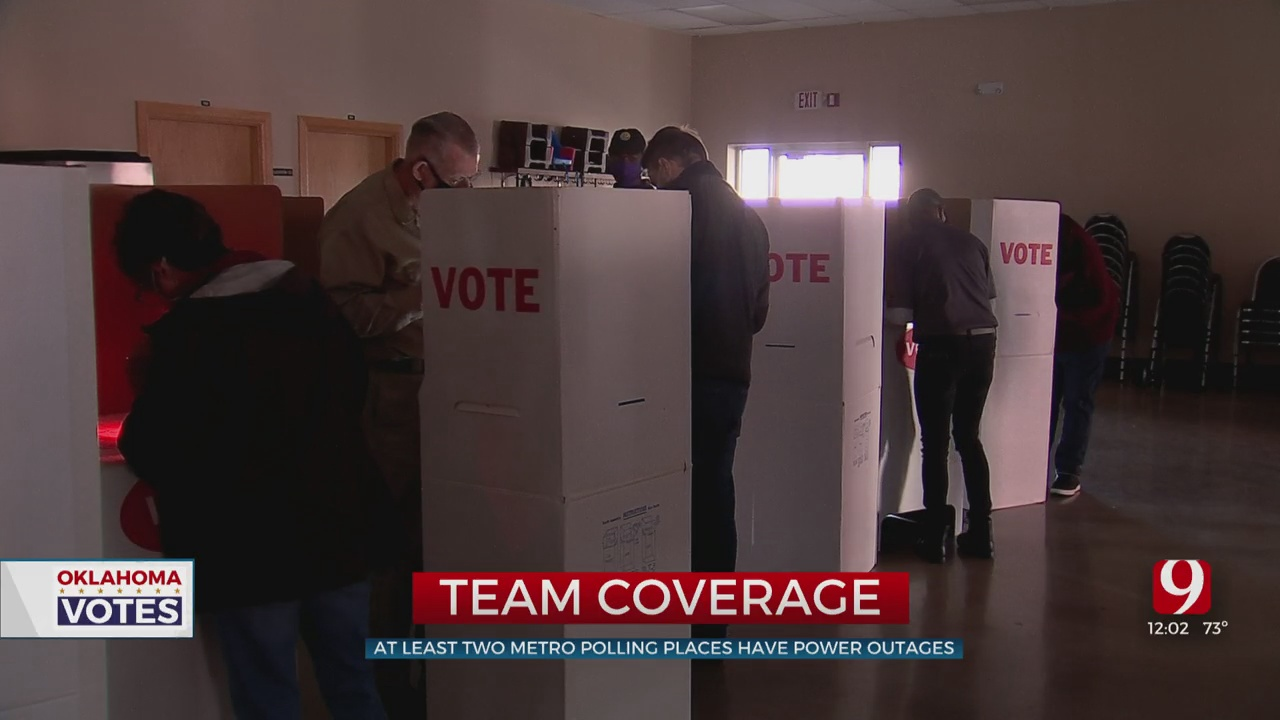 At Least 2 OKC Metro Polling Places Deal With Power Outages