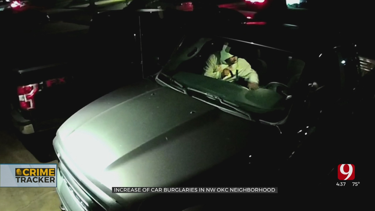 Residents Warning Fellow NW OKC Neighbors After Increase In Car Burglaries