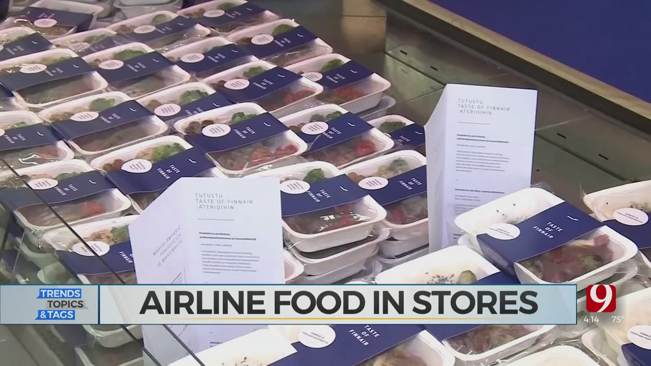 Trends, Topics & Tags: Airline Food Sold In Stores