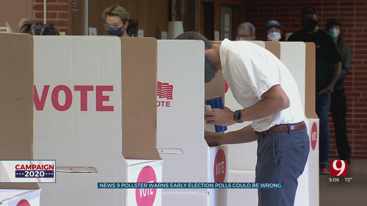 News 9 Pollster Warns Early Election Polls Could Be Wrong