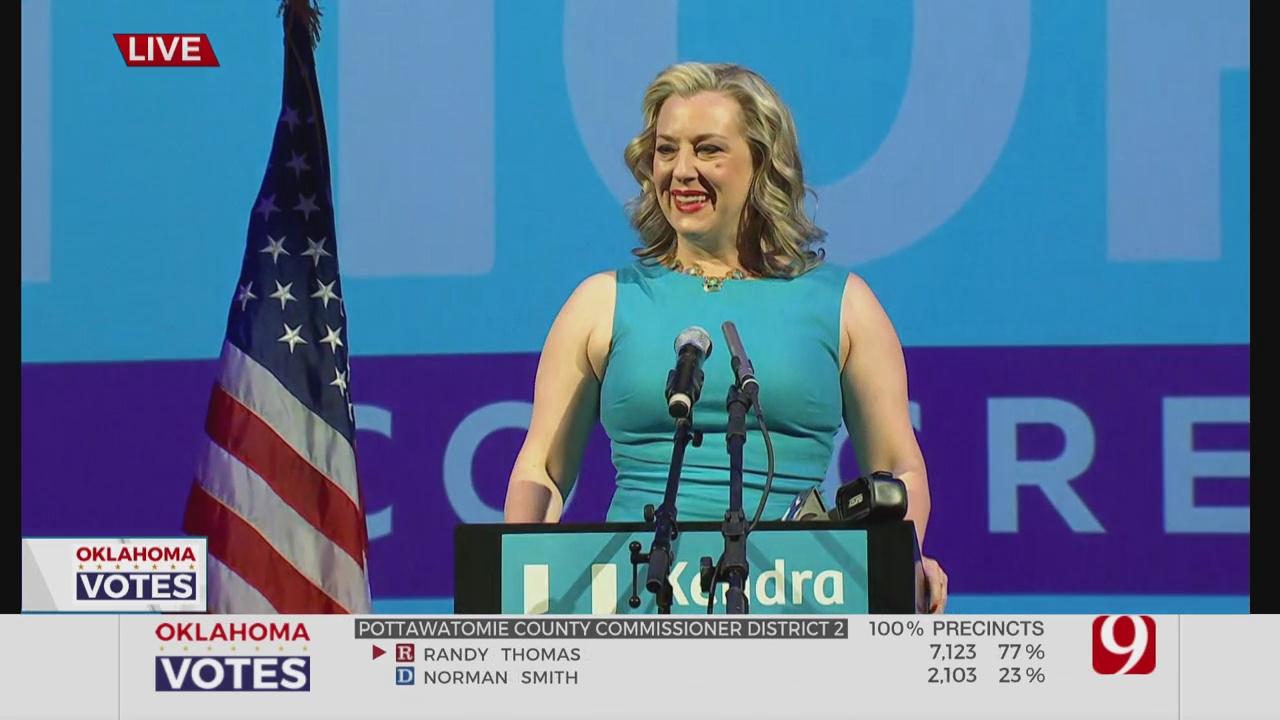 US Rep. Kendra Horn Concedes To GOP Challenger Stephanie Bice