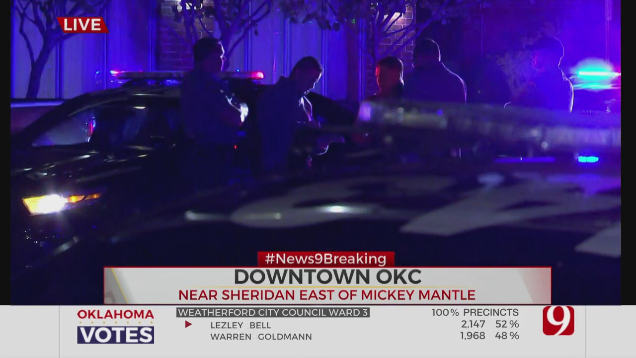 1 In Custody After Shooting At Downtown OKC Hotel