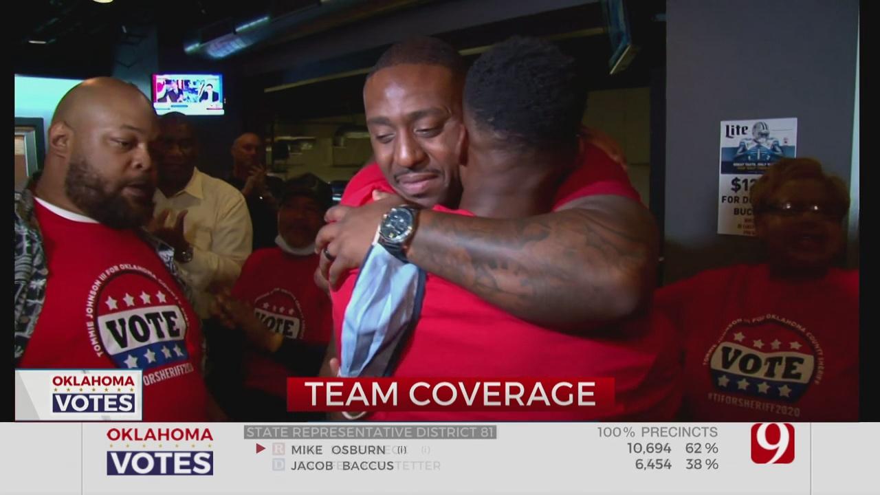 Tommie Johnson Wins Okla. Co. Sheriff Race
