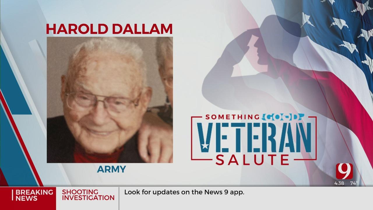 Veteran Salute: Harold Dallam