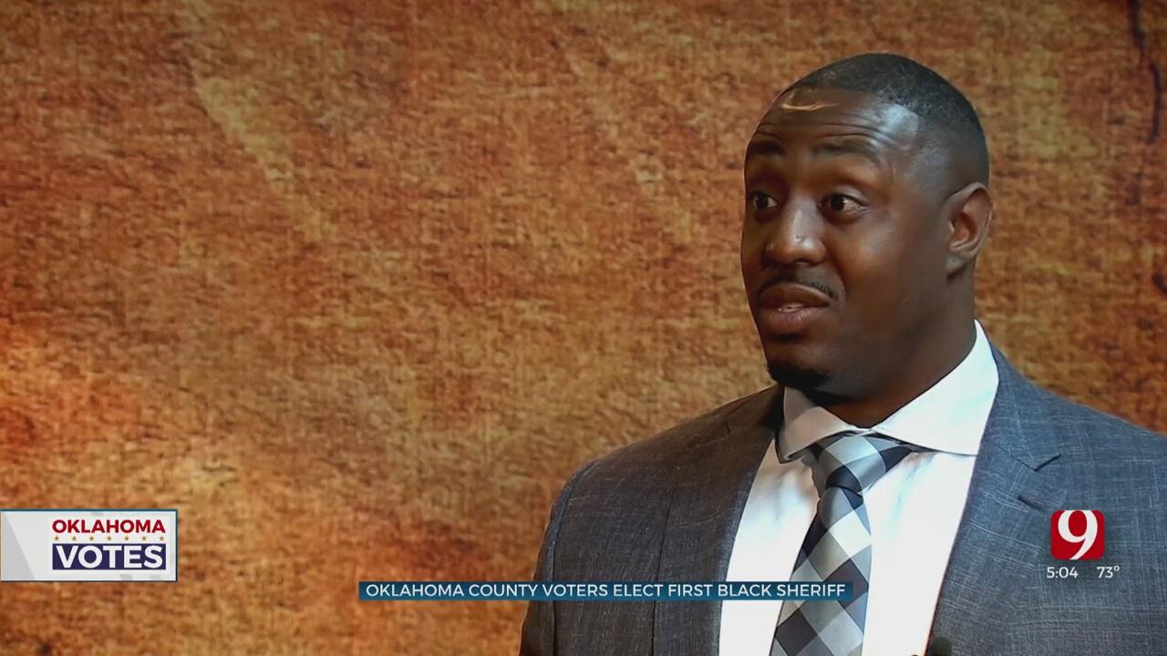 Okla. County's New Sheriff Has Big Plans