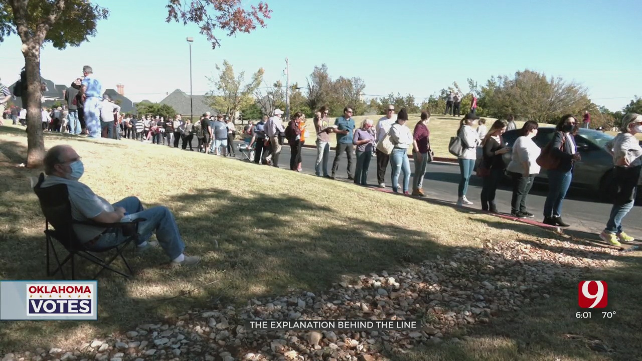 Okla. Co. Election Officials Expect Changes After Voters Wait Hours To Cast Their Ballots
