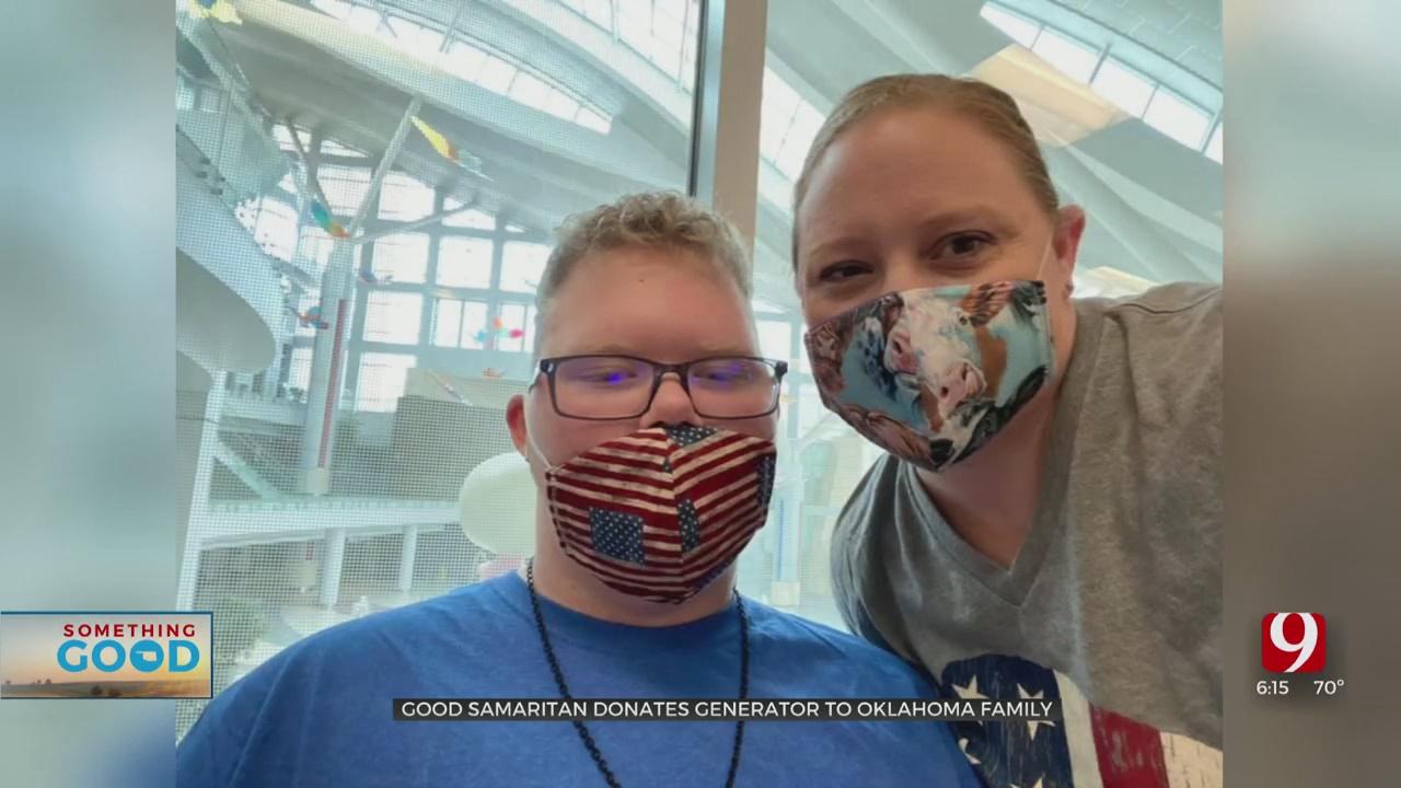Out-Of-State Good Samaritan Donates Generator To Oklahoma Family