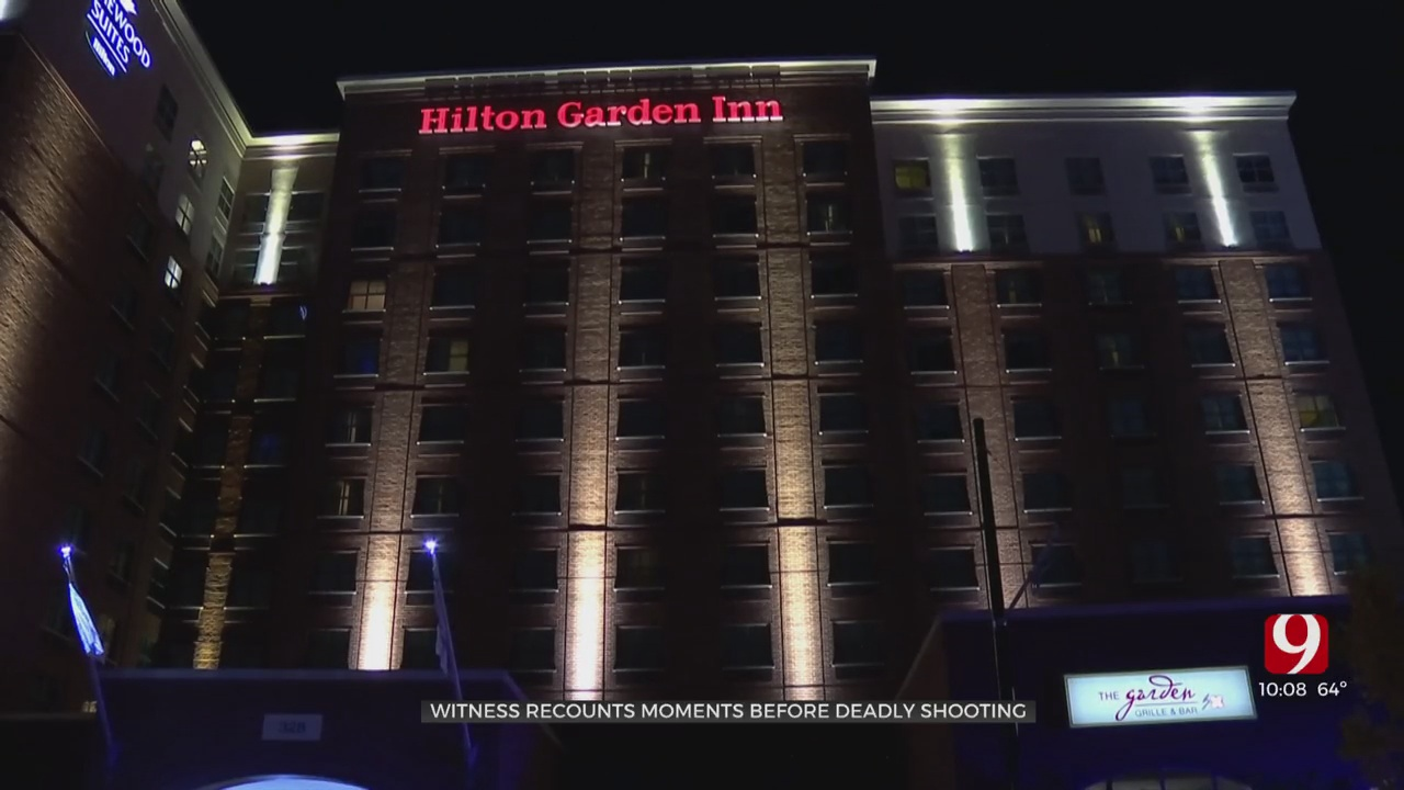 Witness Describes Moments With Accused Suspect Before Deadly Shooting At Bricktown Hotel