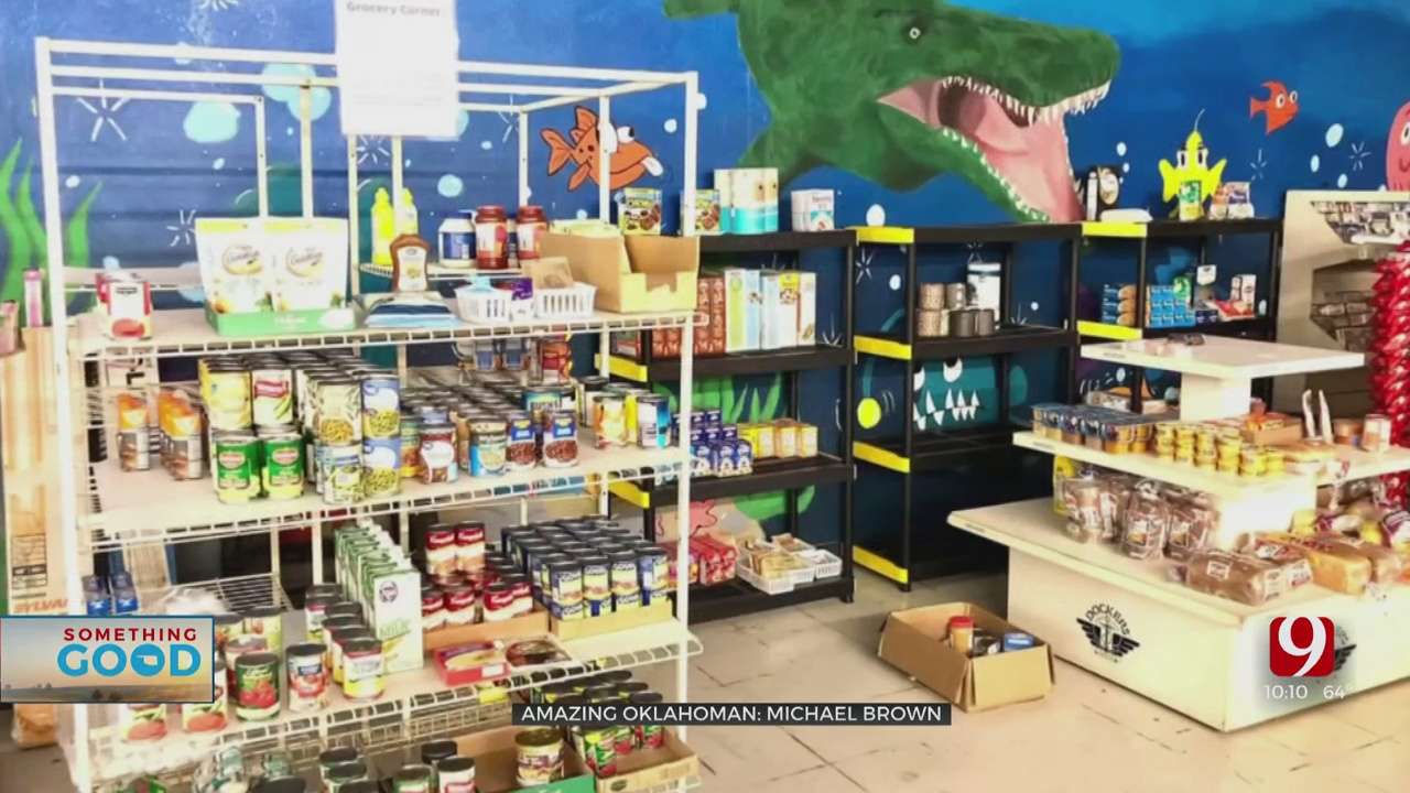 Amazing Oklahoman: Michael Brown Helping People With Essential Needs During Pandemic