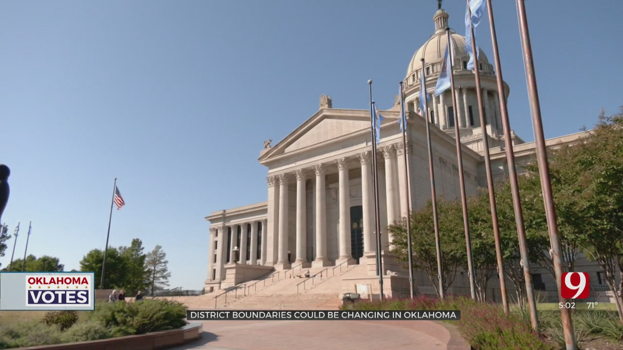 District Boundaries Could Be Changing In Oklahoma After The 2020 US Census