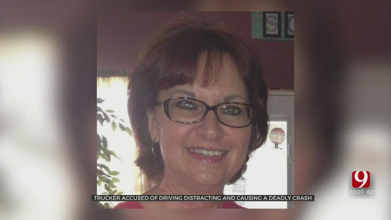 OHP: Distracted Texas Semi-Truck Driver Kills Woman On I-35