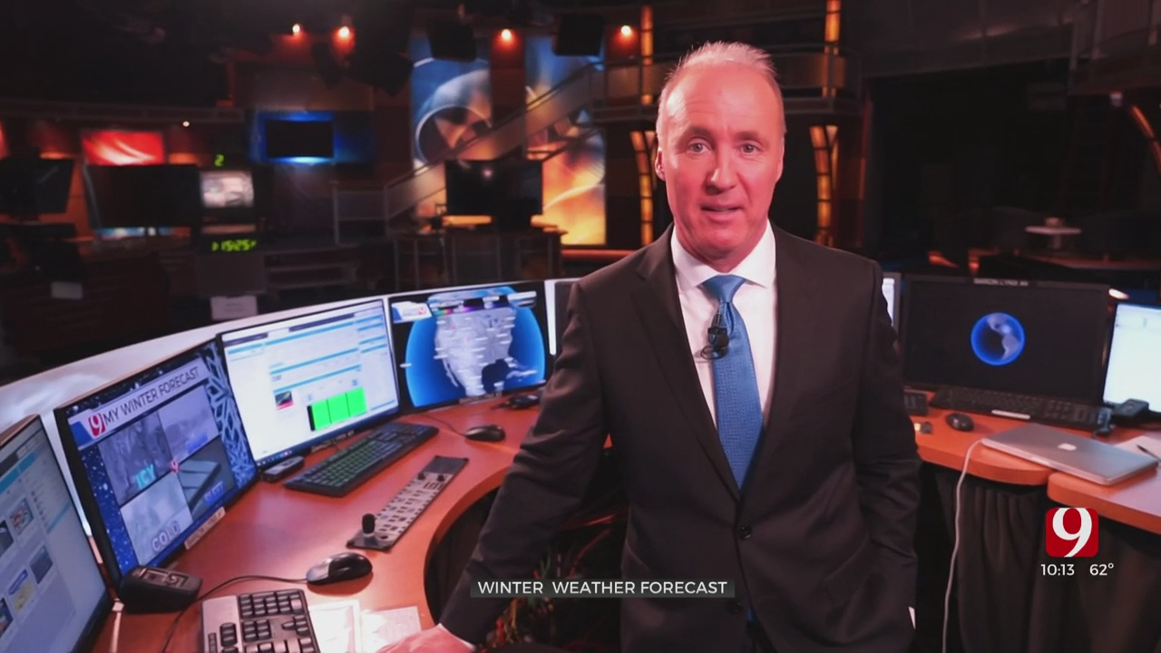 Chief Meteorologist David Payne's Winter Weather Forecast