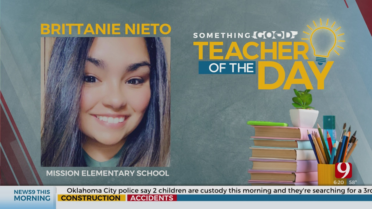 Teacher Of The Day: Brittanie Nieto