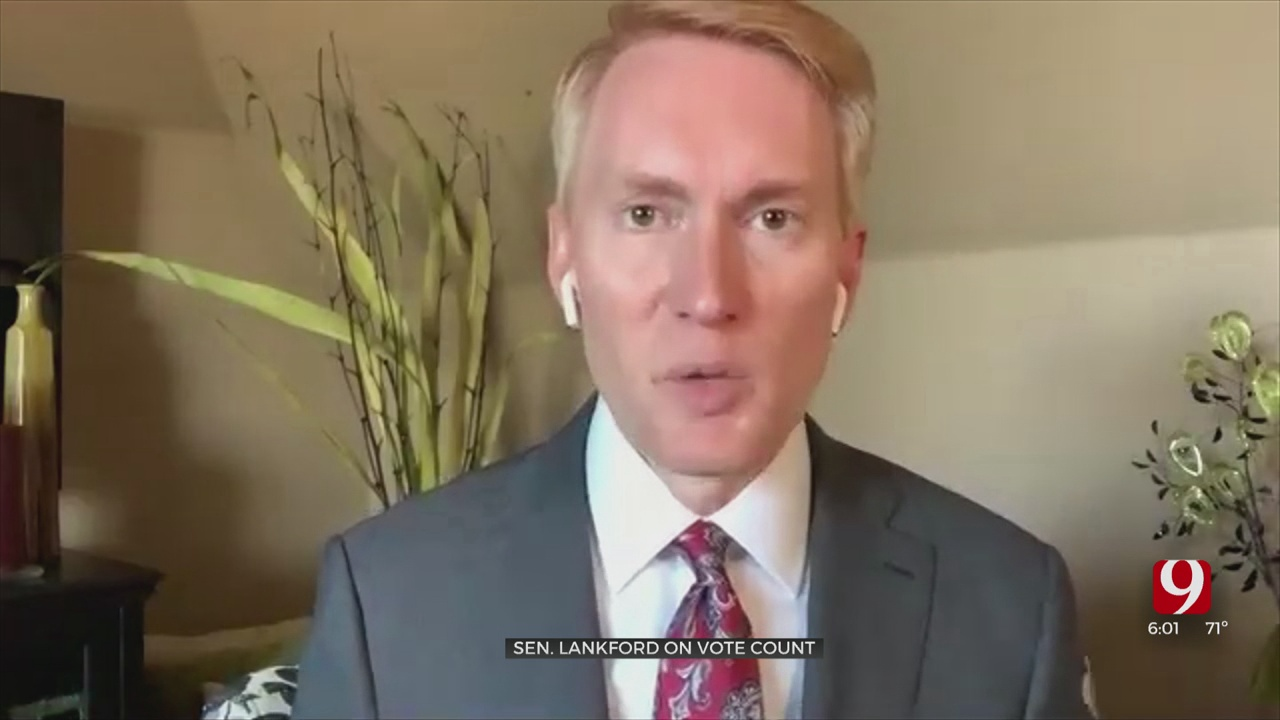 Senator Lankford Doesn't Have 'Evidence' But Questions Counting Votes In Six States
