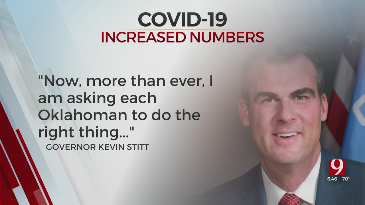 Gov. Stitt Releases Statement About Increased COVID-19 Cases: 'Do The Right Thing'