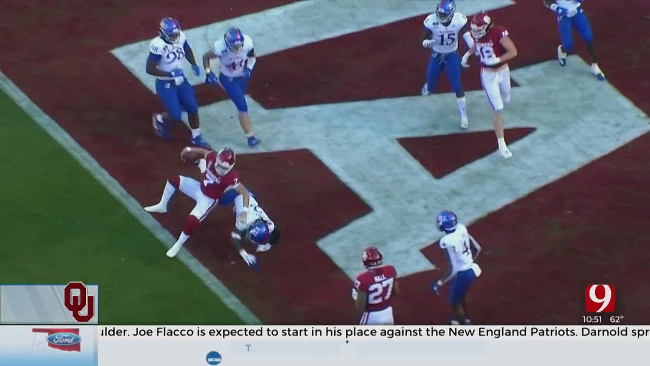 OU Makes Quick Work Of Kansas