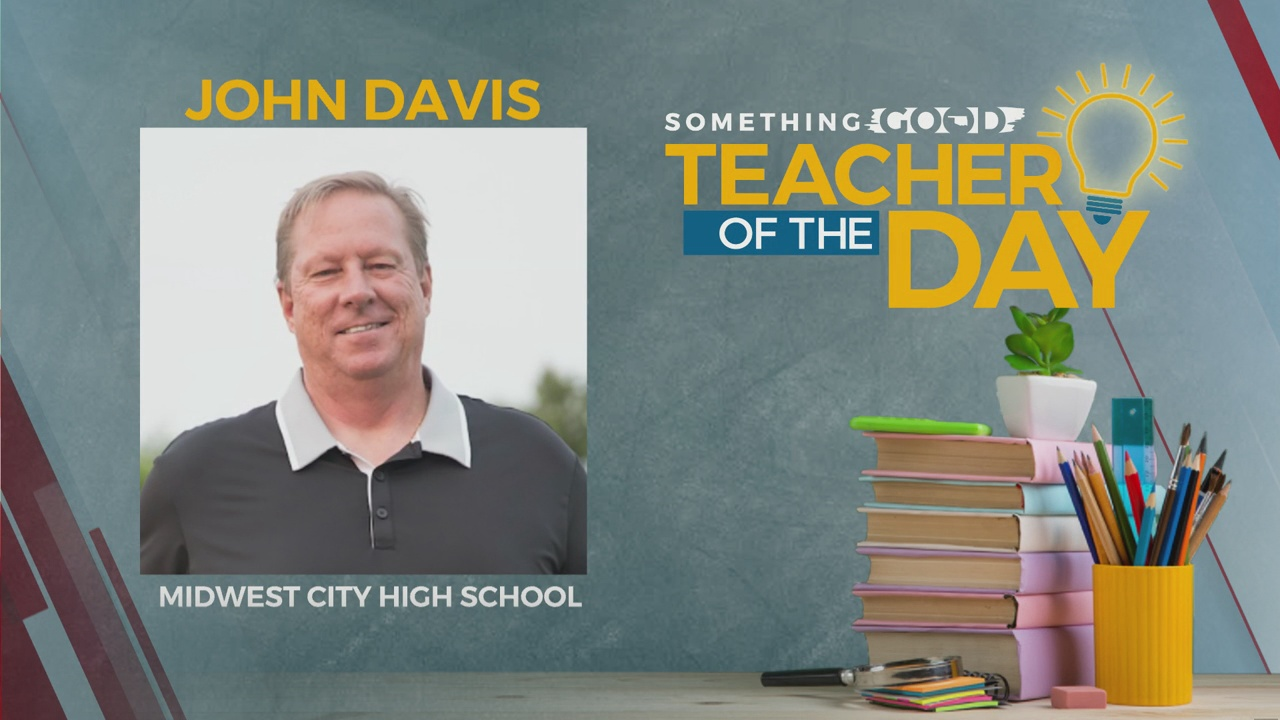 Teacher Of The Day: John Davis