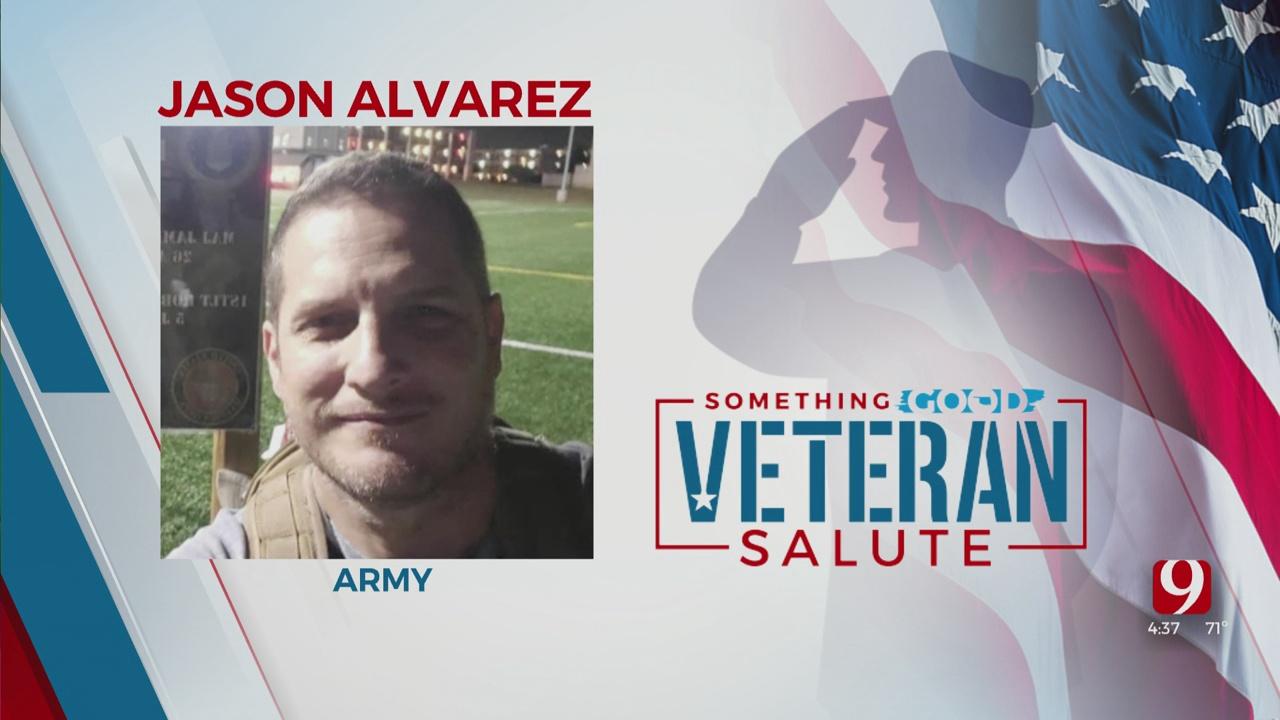 Veteran Salute: Jason Alvarez