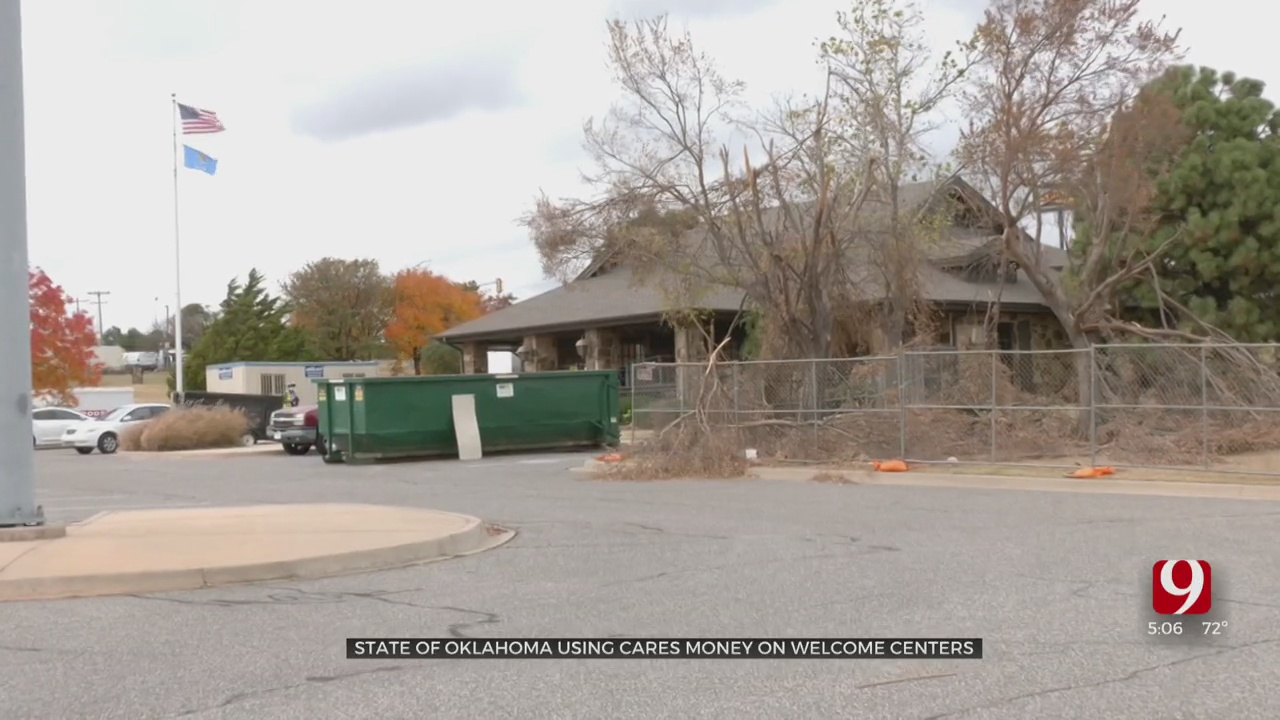 Oklahoma Spending Millions In COVID-19 Relief Funds On Renovating Welcome Centers