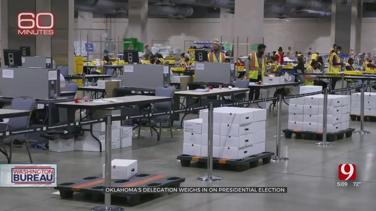 Oklahoma's Delegation Weighs In On The Presidential Election
