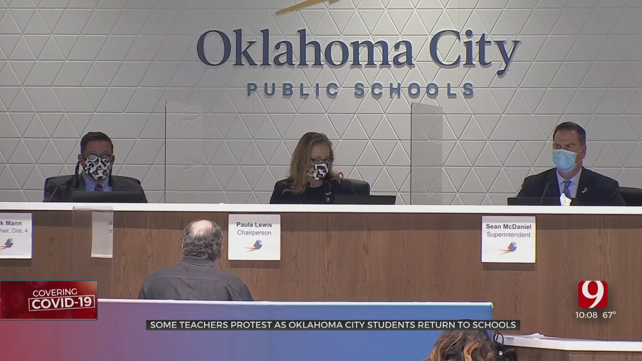 OKCPS Moves Forward Bringing Students Back To Class