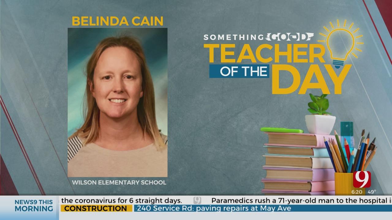 Teacher Of The Day: Belinda Cain