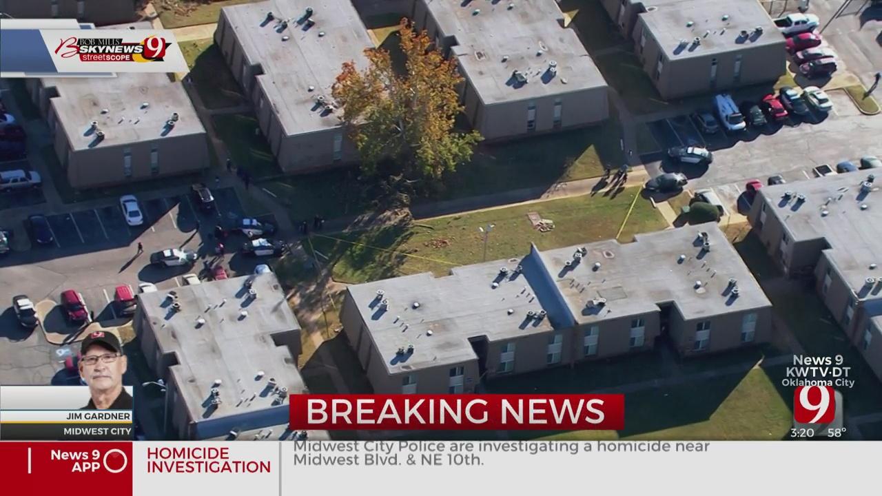 Police Investigate Homicide At Apartment Complex In MWC