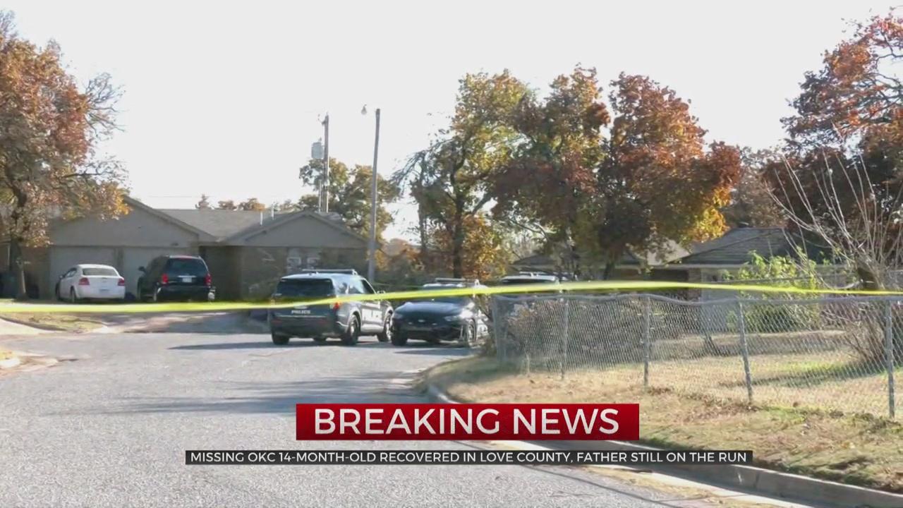 Amber Alert Canceled For 14-Month-Old Girl; Police Investigate SE OKC Homicide