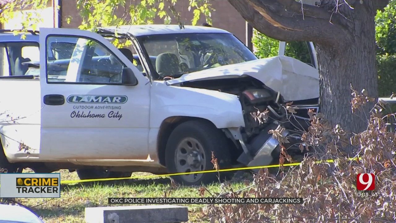 Police Investigate Deadly Shooting, String Of Carjackings In OKC
